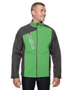 Ash City - North End Men's Terrain Colorblock Soft Shell with Embossed Print