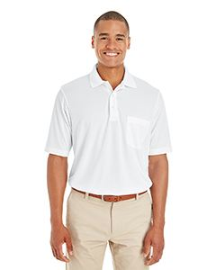 Ash City - Core 365 Men's Origin Performance Pique Polo with Pocket