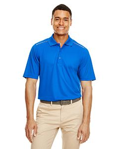 Ash City - Core 365 Men's Radiant Performance Pique Polo with Reflective Piping