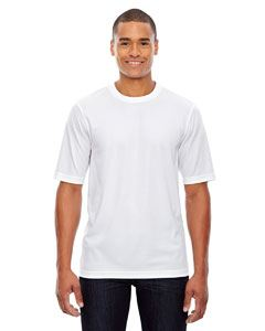 Ash City - Core 365 Men's Pace Performance Pique Crewneck