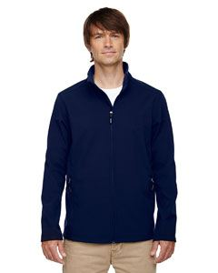 Ash City - Core 365 Men's Tall Cruise Two-Layer Fleece Bonded Soft Shell Jacket