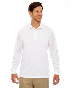 Ash City - Core 365 Men's Pinnacle Performance Long-Sleeve Pique Polo