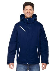 Ash City - North End Men's Rivet Textured Twill Insulated Jacket