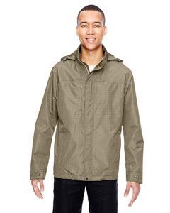 Ash City - North End Men's Excursion Transcon Lightweight Jacket with Pattern