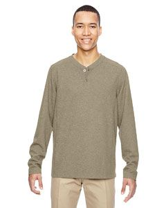 Ash City - North End Men's Excursion Nomad Performance Waffle Henley