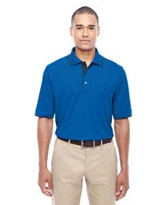 Ash City - Core 365 Men's Motive Performance Pique Polo with Tipped Collar