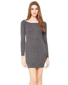 Bella + Canvas Ladies Lightweight Sweater Dress