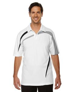 Ash City - North End Men's Impact Performance Polyester Pique Colorblock Polo