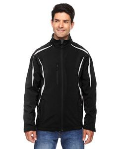 Ash City - North End Men's Enzo Colorblocked Three-Layer Fleece Bonded Soft Shell Jacket