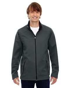 Ash City - North End Men's Splice Three-Layer Light Bonded Soft Shell Jacket with Laser Welding