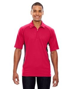 Ash City - North End Men's Serac UTK cool logik Performance Zippered Polo