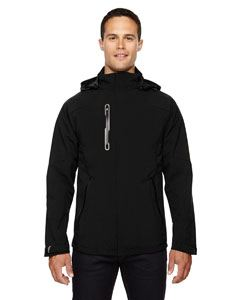 Ash City - North End Men's Axis Soft Shell Jacket with Print Graphic Accents