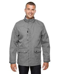 Ash City - North End Men's Uptown Three-Layer Light Bonded City Textured Soft Shell Jacket