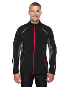 Ash City - North End Men's Pursuit Three-Layer Light Bonded Hybrid Soft Shell Jacket with Laser Perforation