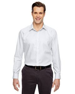 Ash City - North End Men's Precise Wrinkle-Free Two-Ply 80's Cotton Dobby Taped Shirt
