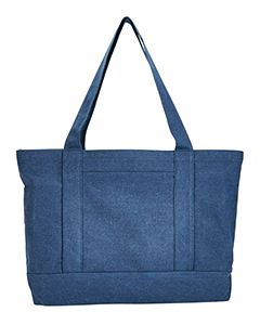 Liberty Bags Seaside Cotton Canvas 12 oz. Pigment-Dyed Boat Tote