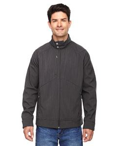 Ash City - North End Men's Skyscape Three-Layer Textured Two-Tone Soft Shell Jacket