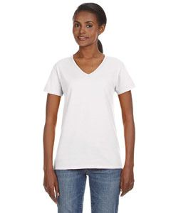 Anvil Ladies Lightweight V-Neck T-Shirt