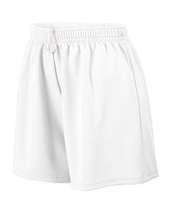 Augusta Drop Ship Girl's Wicking Mesh Short