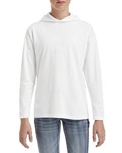 Anvil Youth Long-Sleeve Hooded T-Shirt