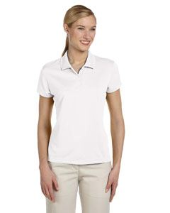 adidas Golf Ladies climalite Short-Sleeve Pique Polo