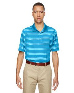 adidas Golf Men's puremotion Textured Stripe Polo