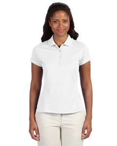 adidas Golf Ladies climalite Texture Solid Polo