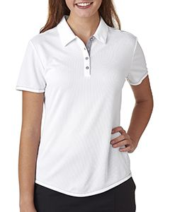 adidas Golf Ladies climacool Mesh Color Hit Polo