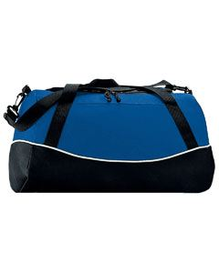 Augusta Drop Ship Tri-Color Sport Bag