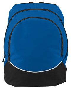 Augusta Drop Ship Large Tri-Color Backpack