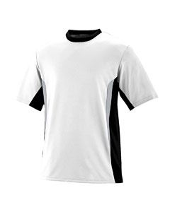 Augusta Drop Ship PLY/Wicking CLRBLK SURGE Jersey