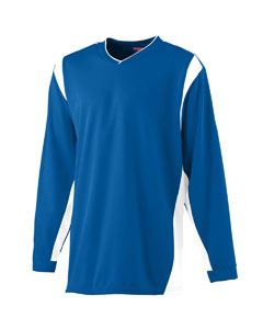 Augusta Drop Ship WICKING Long Sleeve Warmup ShIrt