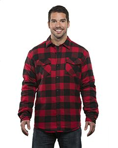 Burnside Adult Quilted Flannel Jacket