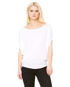 Bella + Canvas Ladies Flowy Circle Top