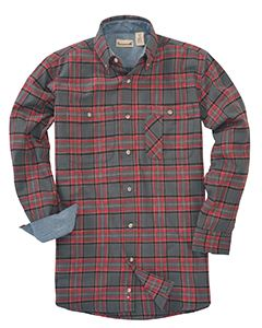 Backpacker Men's Tall Yarn-Dyed Flannel Shirt