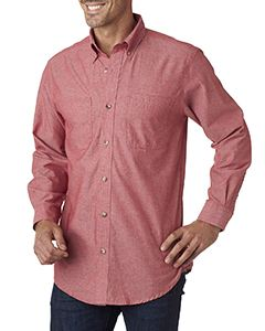Backpacker Men's Yarn-Dyed Chambray Woven