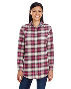 Backpacker Ladies Yarn-Dyed Flannel Shirt
