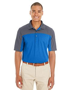 Ash City - Core 365 Men's Balance Colorblock Performance Pique Polo