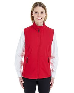 Ash City - Core 365 Ladies Cruise Two-Layer Fleece Bonded Soft Shell Vest