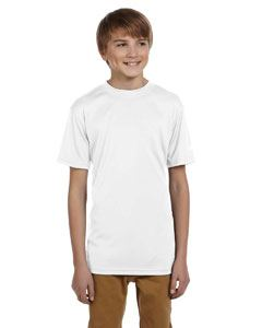 Champion Double Dry Youth 4.1 oz. Interlock T-Shirt