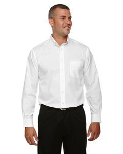 Devon & Jones Men's Tall Crown Woven Collection Solid Broadcloth