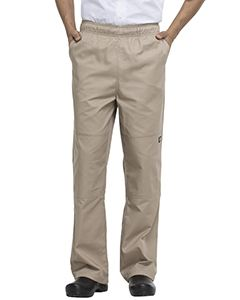 Dickies Chef Unisex Double Knee Baggy Elastic Pant