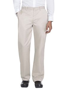 Dickies Chef Men's Classic Zip-Fly Dress Pant