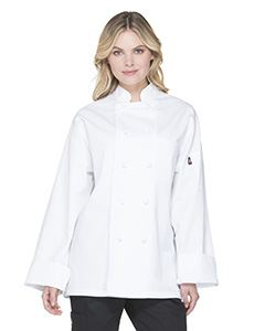 Dickies Chef Unisex Classic Knot Button Chef Coat