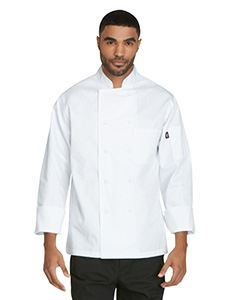 Dickies Chef Unisex Classic Cloth Covered Button Coat