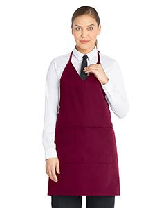 Dickies Chef V-Neck Tuxedo Apron with Snaps