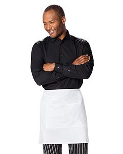 Dickies Chef Half Bistro Waist Apron with 2 Pockets