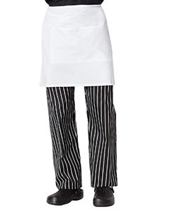 Dickies Chef Half Bistro Waist Apron 6 piece pack