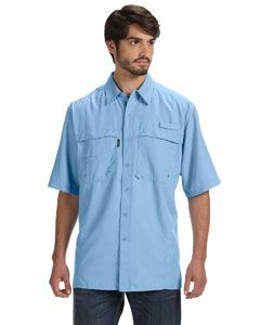 Dri Duck Men's Short-Sleeve Catch Fishing Shirt