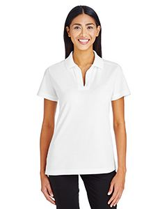 Devon & Jones CrownLux Performance Ladies Plaited Polo